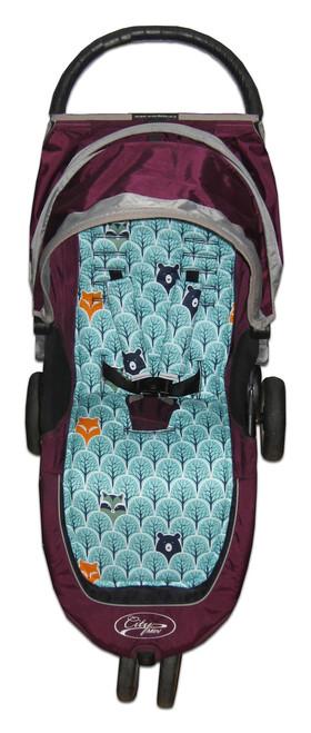 Peekaboo Cotton Pram Liner to fit Baby Jogger