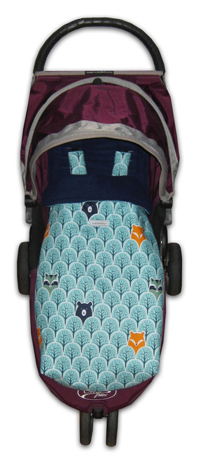 Peekaboo Snuggle Bag to fit Baby Jogger