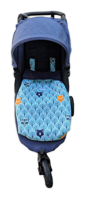 Peekaboo Snuggle Bag to fit Baby Jogger City Mini GT