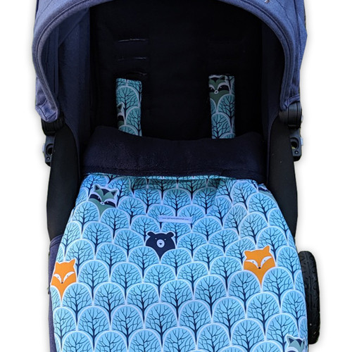 Peekaboo Mint Snuggle Bag to fit Strider/Strider Plus/Compact