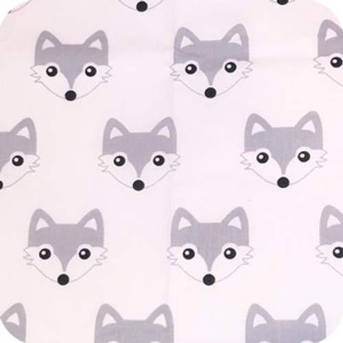 Fox Grey 100% Cotton