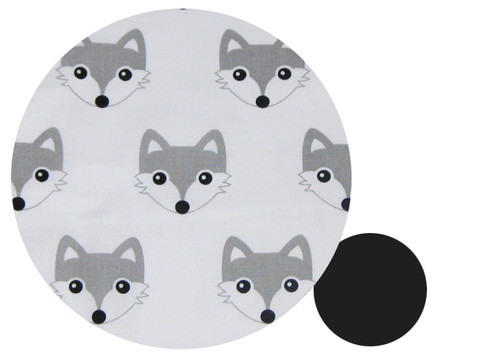 Fox Grey Cotton Pram Liner to fit Strider