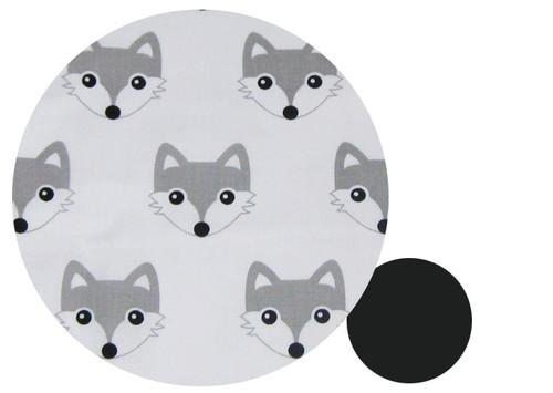 Fox Grey Cotton Pram Liner to fit Joolz Geo