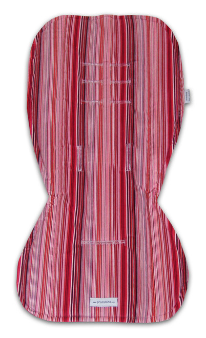 Stripes Ruby & Pink Cotton to fit Stokke