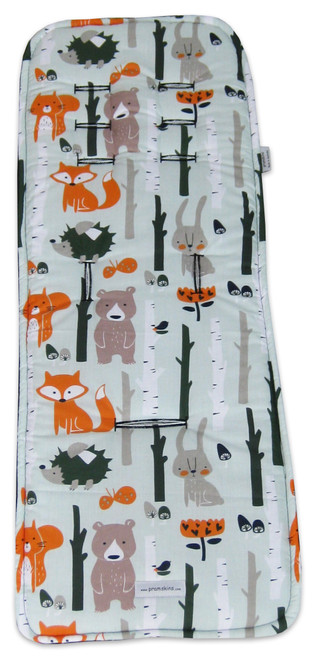 Forest Animals pram liner to fit Mountain Buggy Swift Mini