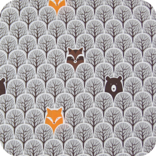 Peekaboo Grey Cotton Pram Liner to fit Bugaboo Cameleon/Fox