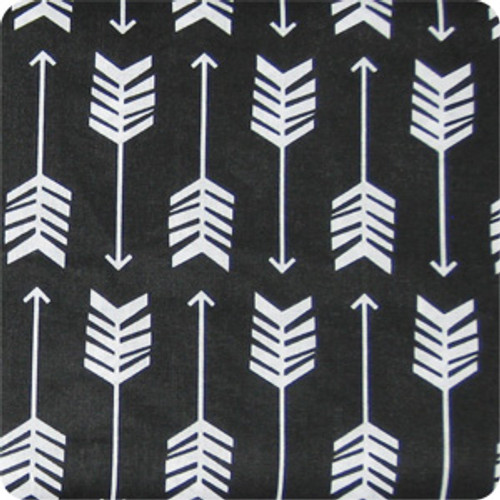 Arrows Black & White Cotton Pram Liner to fit Phil & Teds