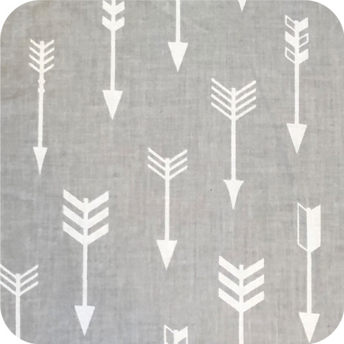 Arrows Grey & White Cotton Pram Liner to fit Mountain Buggy Nano/Cosmopolitan