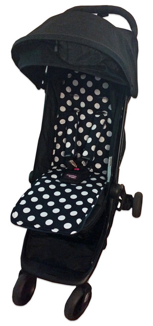 """Minnie"" Polka Dot Black & White to fit Nano/Cosmopolitan"