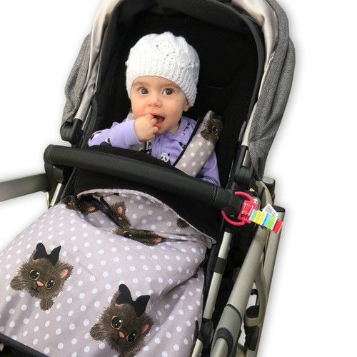 Little Kitty Snuggle Bag to fit Uppababy