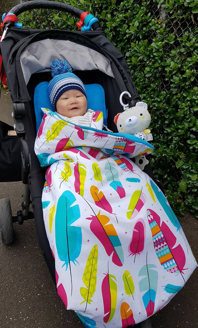 Feathers Multi Snuggle Bag for Baby Jogger