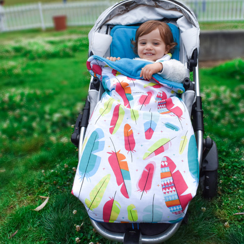 Feathers Multi Universal Fit Snuggle Bag