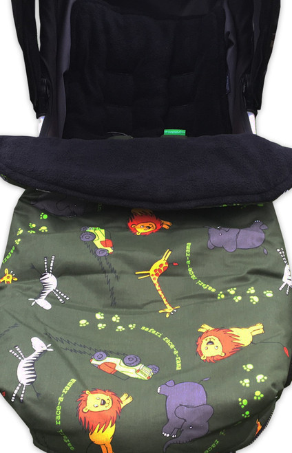 Safari Race a Rama Snuggle bag