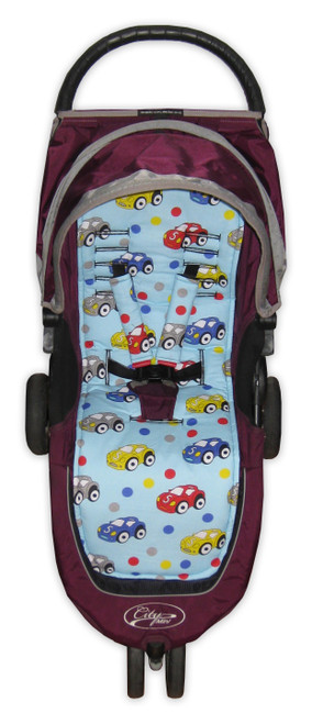Ready Set Go Cotton Pram Liner to Fit Baby Jogger