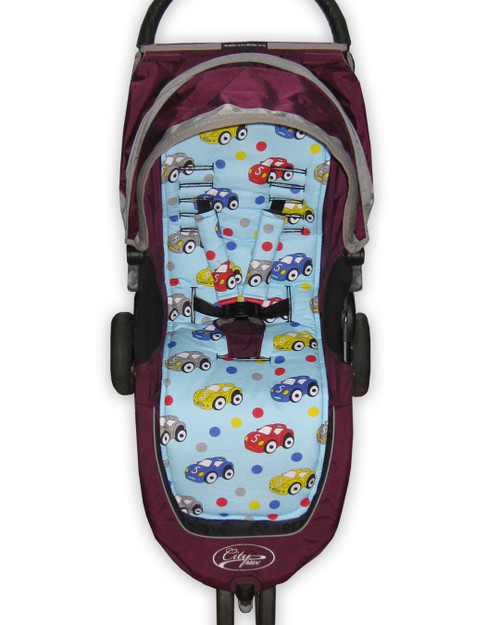 Ready Set Go Cotton Pram Liner to Fit Baby Jogger City Mini GT