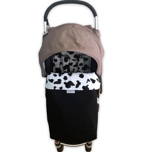 Faux Fur Black & White Waterproof Snuggle Bag to fit Agile/Agile Plus/Agile Elite