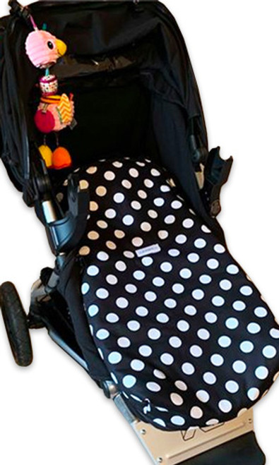 Minnie Polka Dot Snuggle Bag to fit Mountain Buggy Plus One