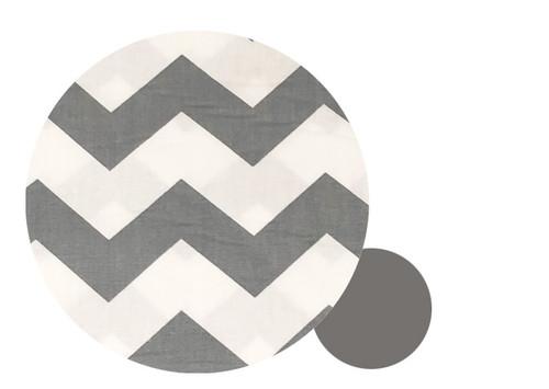 Chevron Grey &  Cotton Pram Liner to fit Mountain Buggy Nano/Cosmopolitan