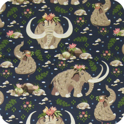 Baby Mammoth print 100% cotton