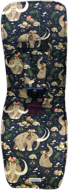 Baby Mammoth  Cotton pram liner to fit Baby Jogger City Mini GT