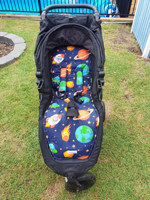 Little Space Cotton Pram Liner to fit Baby Jogger City Mini GT