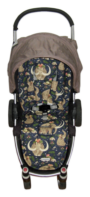 Baby Mammoth cotton universal fit pram liner set in Agile