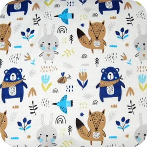 Scandi Woodland 100% cotton