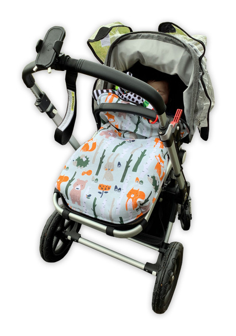 Forest Animals Snuggle Bag/Footmuff to fit Bugaboo Cameleon