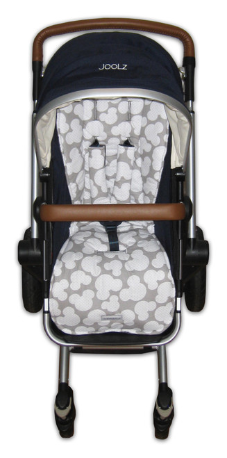 Mickey Cotton pram liner set to fit Joolz Day