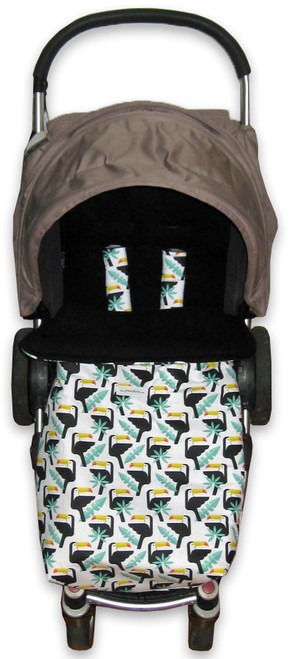 Toucans universal fit snuggle bag photographed in Steelcraft Agile