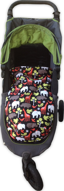 Zoology Black snuggle bag footmuff to fit Baby Jogger City Mini GT
