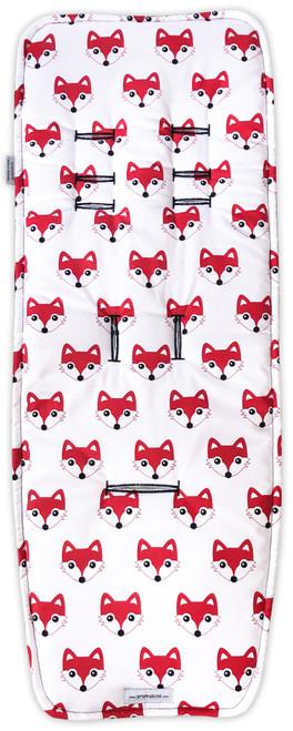 Fox Red Cotton Pram Liner to fit Strider