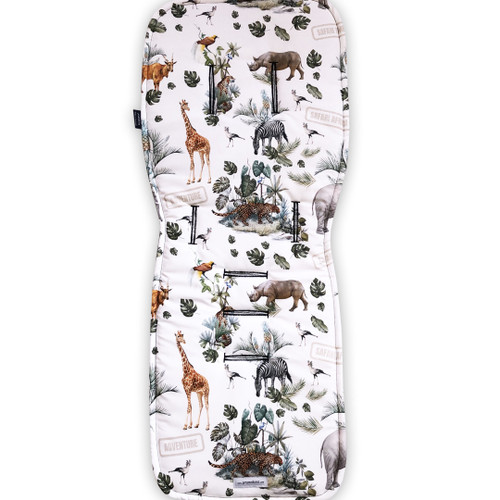 Safari Adventure Cotton Pram Liner to fit Bugaboo Cameleon/Fox