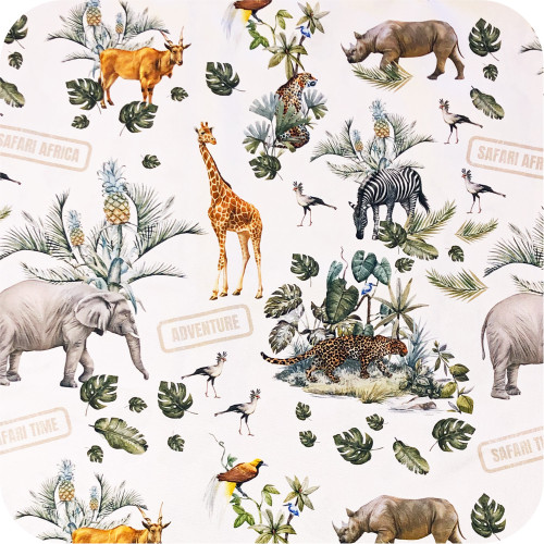 Safari Adventure 100% cotton