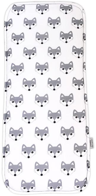 Fox Grey Cotton Waterproof Universal Bassinet Liner