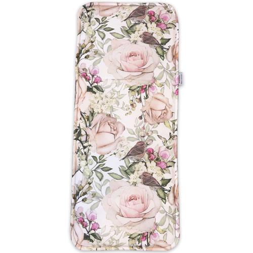 English Rose Cotton Waterproof Universal Bassinet Liner