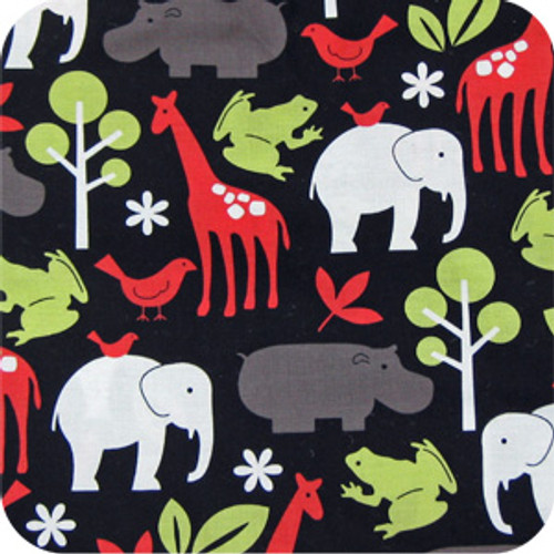 Zoology Black 100% Cotton