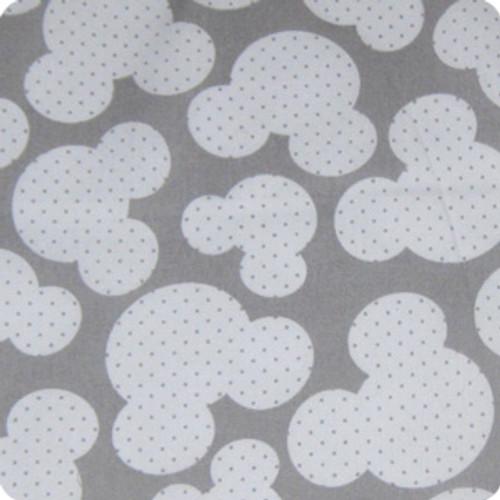 Mickey Grey 100% Cotton