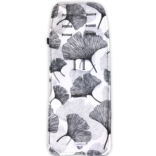 Akito Leaf Cotton Pram Liner to fit Mountain Buggy Nano/Cosmopolitan