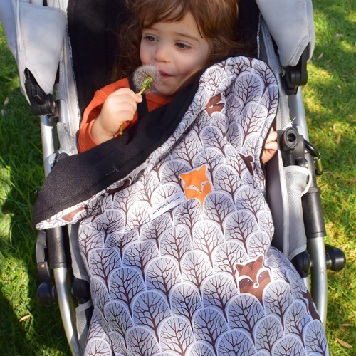 Peekaboo Grey Snuggle Bag to fit iCandy