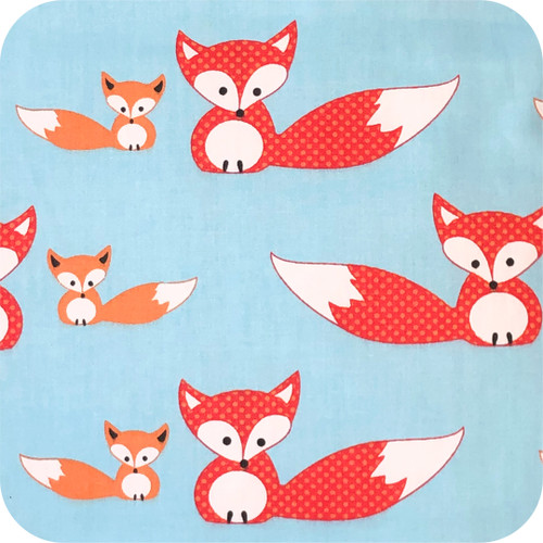 Baby & Mum Fox Cotton Pram Liner to fit Baby Jogger Summit xc/x3
