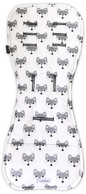 Fox Grey Cotton Pram Liner to fit Redsbaby