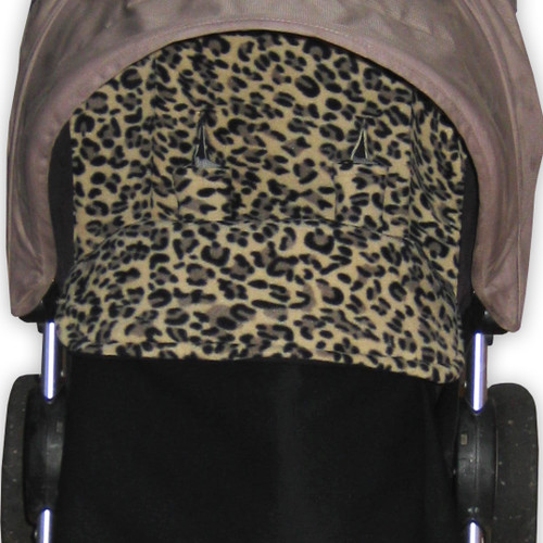 Little Leopard Waterproof Snuggle Bag to fit Baby Jogger