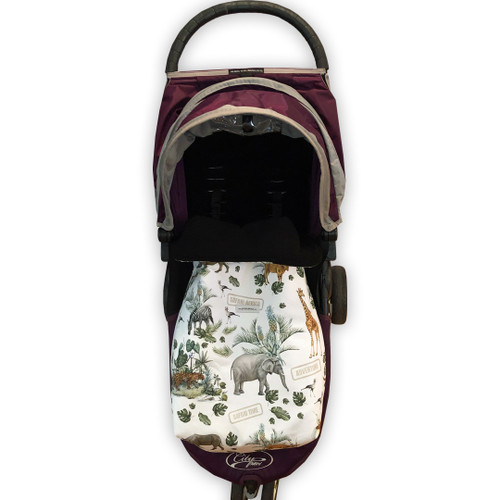 Safari Adventure Snuggle Bag to fit Baby Jogger