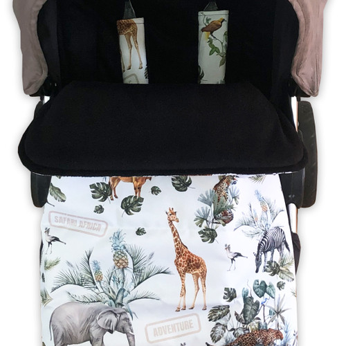 Safari Adventure Snuggle Bag to fit Mountain Buggy