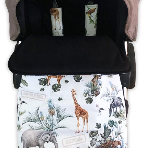 Safari Adventure Snuggle Bag to fit Phil & Teds