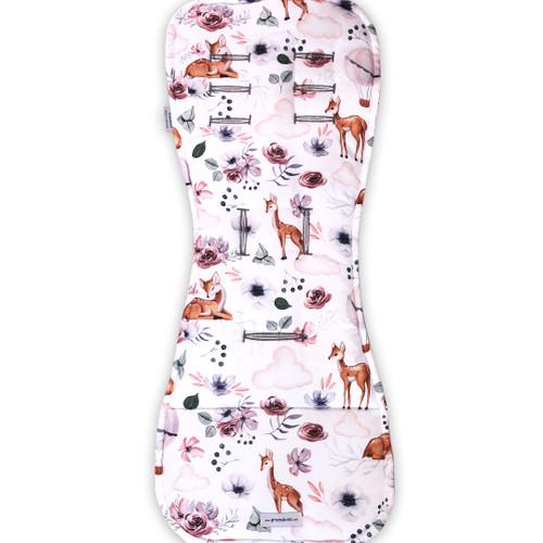 Baby Deer Cotton Pram Liner to fit Redsbaby