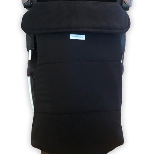 Jet Black Waterproof Universal fit Footmuff
