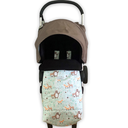 Forest Friends Universal Fit Snuggle Bag with Waterproof Footmuff