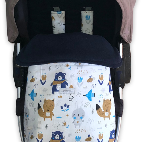 Scandi Wooldand Snuggle Bag to fit Uppababy
